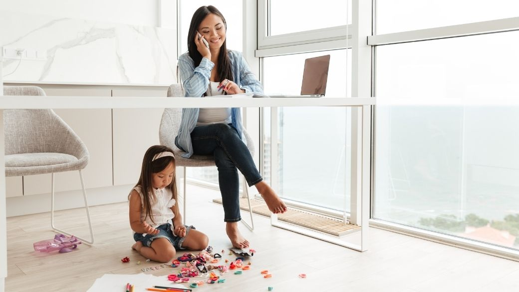10 Stress-Free Tips While Working From Home With Kids