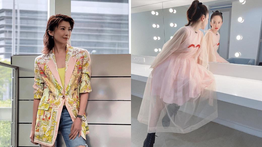 Jeanette Aw And Fann Wong's Best Looks In Baking Show Crème De La Crème