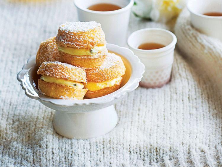 Passionfruit Kisses (Gluten-Free) Desserts
