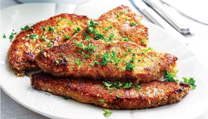 Crispy Crumbed Ham