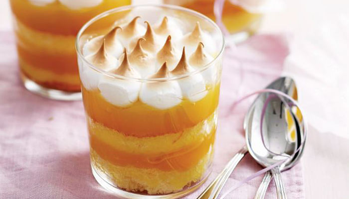 Lemon Meringue Layer Cakes Desserts