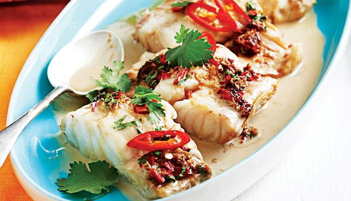 Thai-Style Fish in Coconut Sauce