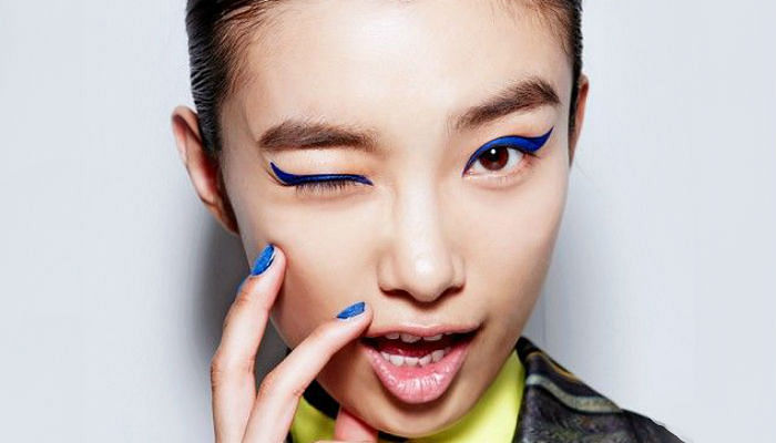 6 Ways To Draw Blue Eyeliner This Summer - FEATURED
