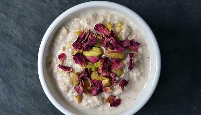 Porridge With Apple Butter