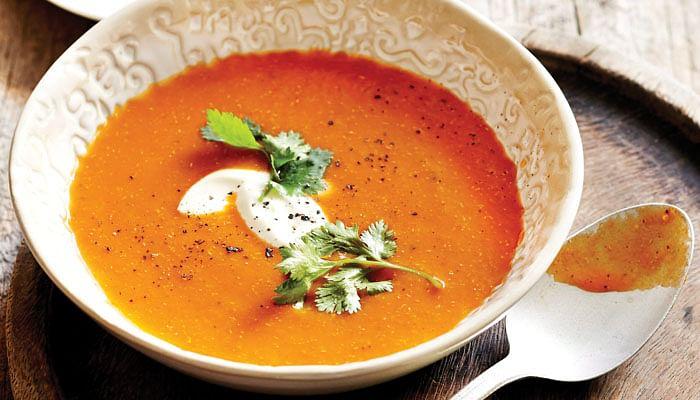 Roast Spiced Capsicum Soup