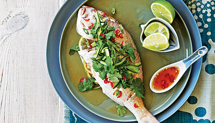 Steamed Snapper With Fish Sauce