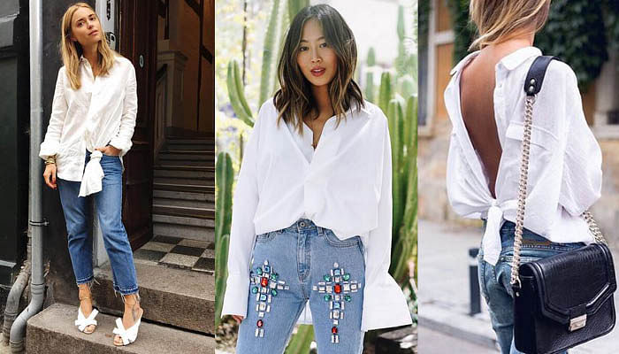 5 Stylish Pieces Every Woman Depends On _ White Shirt
