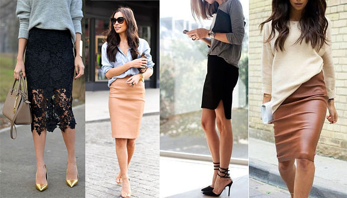 5 Basic Pieces Every Stylish Woman Owns For The Office_Pencil Skirt