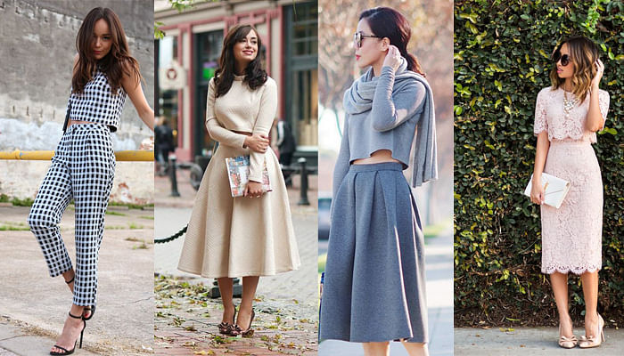 5 Ways to Wear Crop Top for Work_Matching