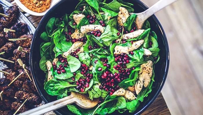 Do not reheat leafy greens