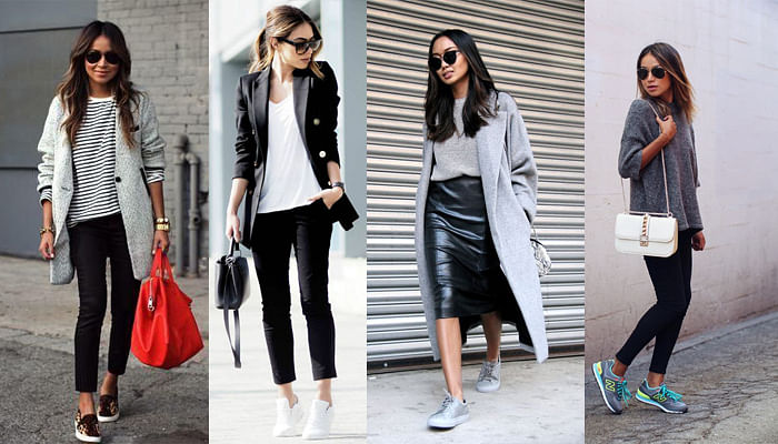 How To Wear Sneakers in Office_Featured Image