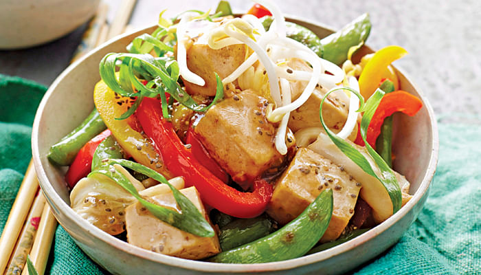 Tofu & Chia Stir-fry