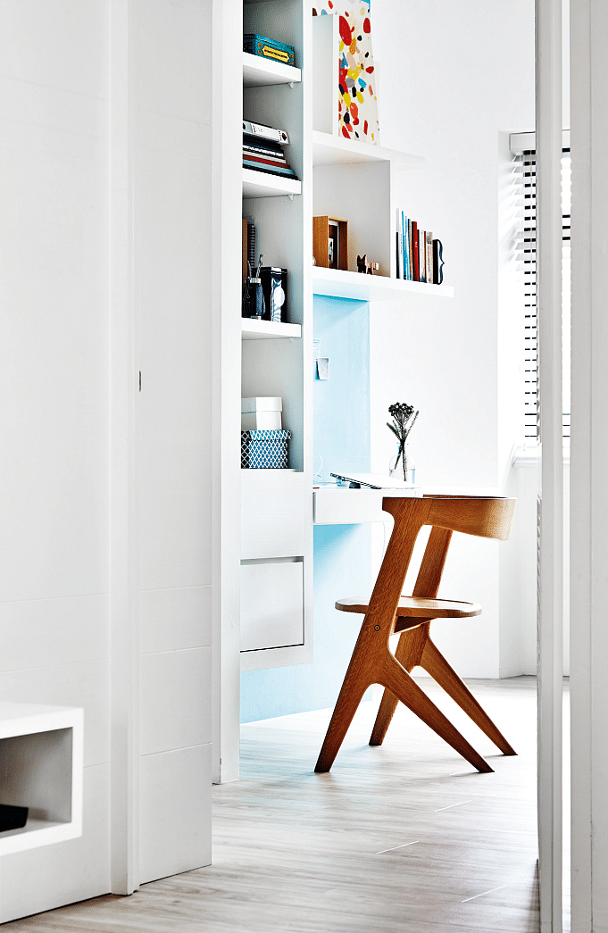 hdb home inspiration scandinavian colourful study 3