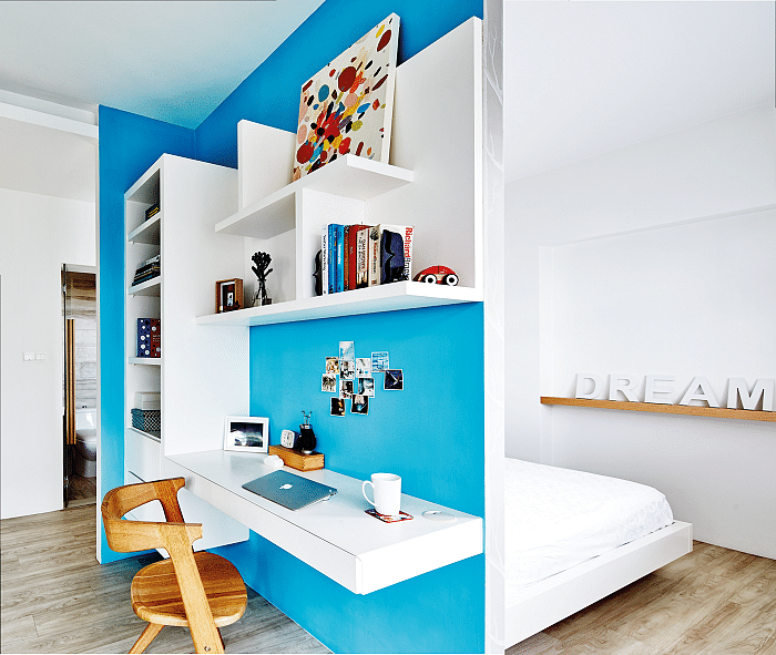 hdb home inspiration scandinavian colourful study