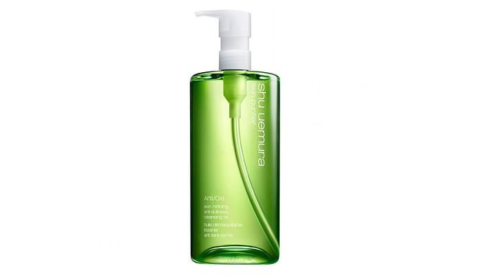 shu uemura anti/oxi+ Pollution and Dullness Clarifying Cleansing Oil, $125