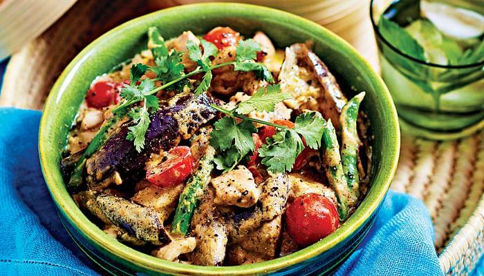 Chicken & Veg Thai Green Curry
