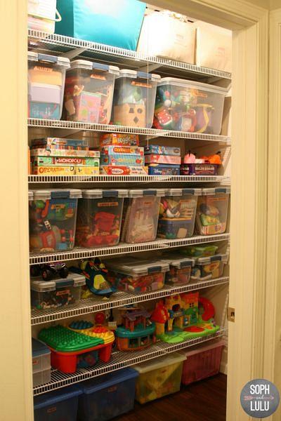 organising hacks for your storeroom