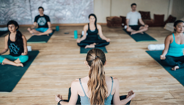 Train Like Olympian Michael Klim_Chosen 7 - Group Meditation and Yoga