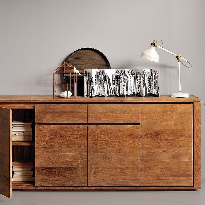 Where to get quality teak furniture in singapore Teak Elemental sideboard (3)