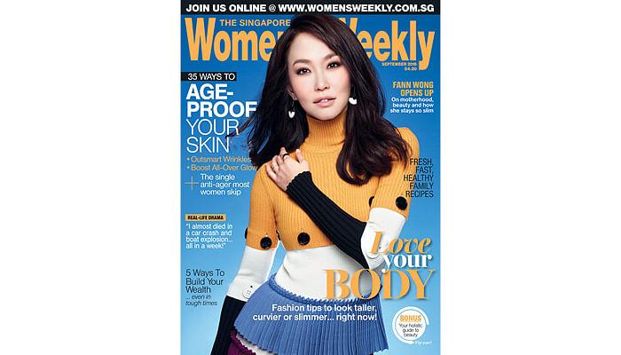 Cover Girl Fann Wong's 5 Beauty Secrets Revealed!