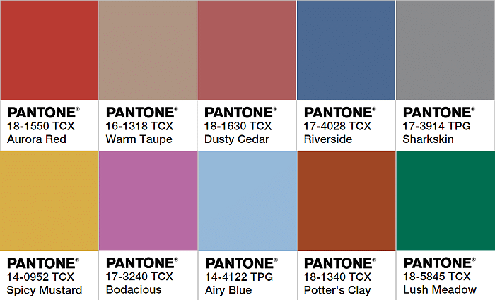 Hair Inspiration Winning Ways To Wear Pantone's 2016 Fall Colours 3 (2)