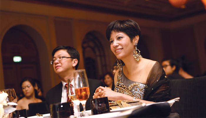 Indranee Rajah and Loh Yew Seng at Great Women Of Our Time 2014