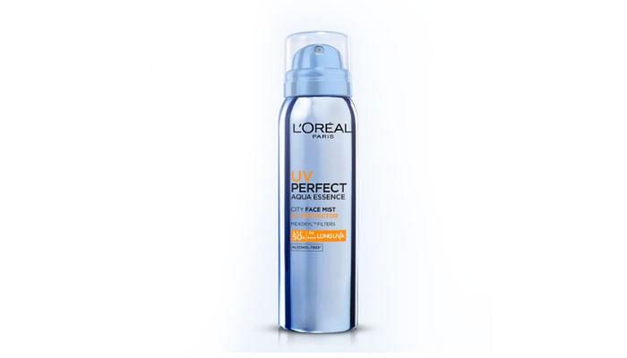 L'Oreal UV Perfect Aqua Essence City Mist SPF 50 PA ++++, $22.90