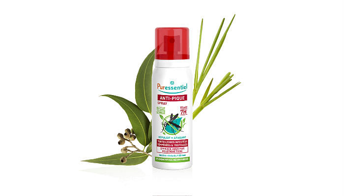 Puressentiel Anti-Sting Spray with 11 Essential Oils, $24.90 75ml