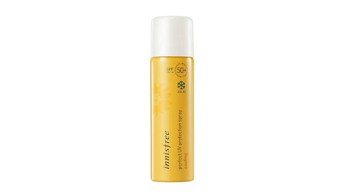 innisfree Perfect UV Protection Spray SPF 50+ PA+++, $19