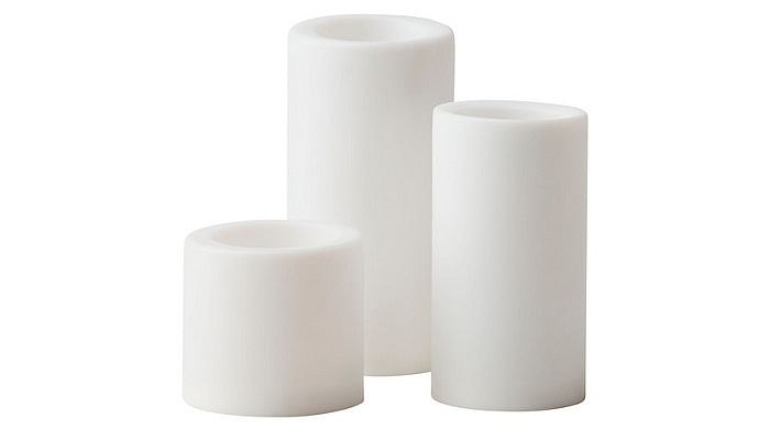 experts-reveal-how-to-set-the-right-ambience-for-a-stylish-party-3-stopen-led-block-candle-set-of-white