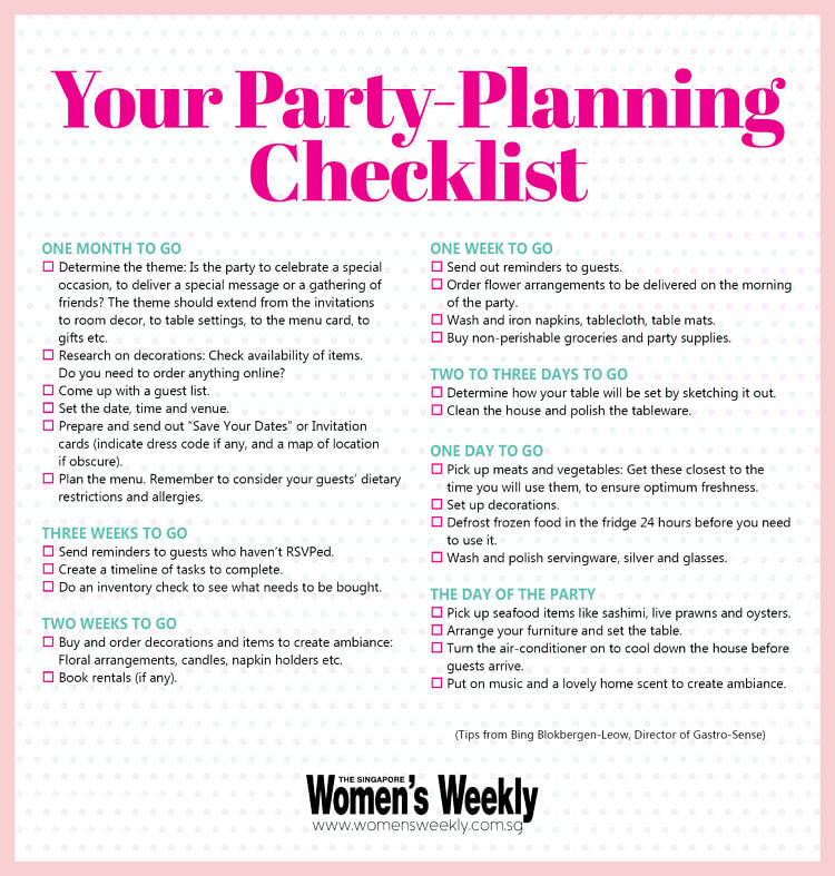 party-checklist-infographics