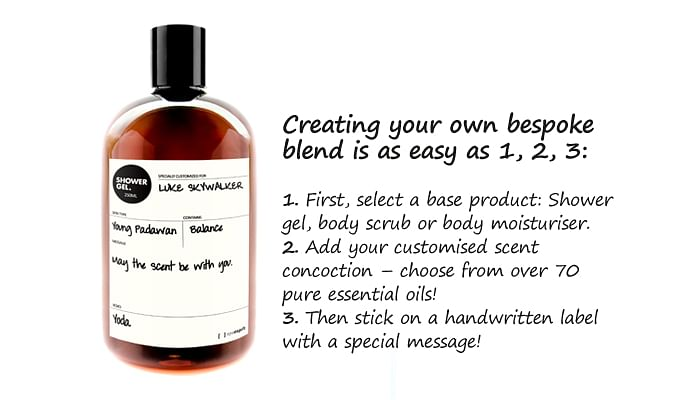 Spa Esprit handwritten gift product