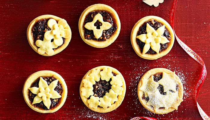 Ginger And Cranberry Mince Tarts