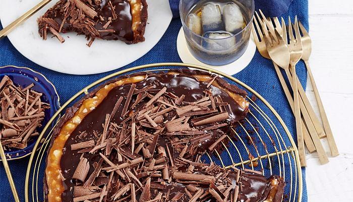 decadent-choc-hazelnut-tart