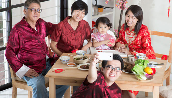 How to address family members in Mandarin for Chinese New Year