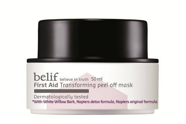 Belif First Aid Transforming Peel Off Mask, $36