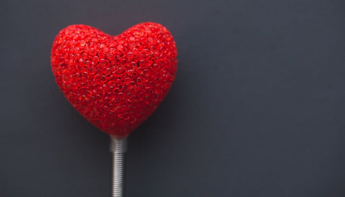 13 Interesting Things You Didn't Know About Valentine's Day red heart