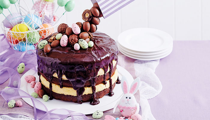 Magic Easter Mousse Cake