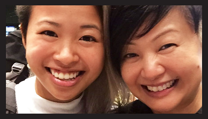 Mother's Day _Letter to my daughter_Barbara & Sarah_Shiseido