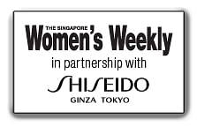 The Singapore Women's Weekly In Partnership With Shiseido Logo
