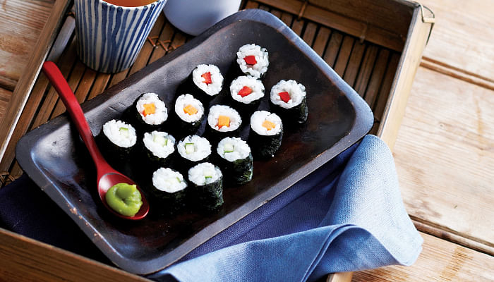 Healthy Sushi Mini Rolls