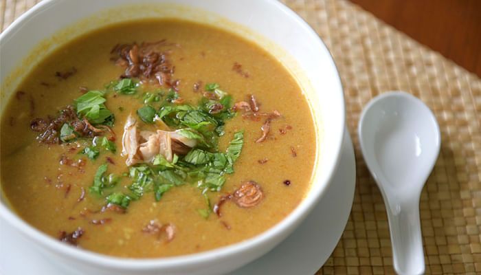 Spicy Mulligatawny Curry Soup - Sylvia Tan The Straits Times