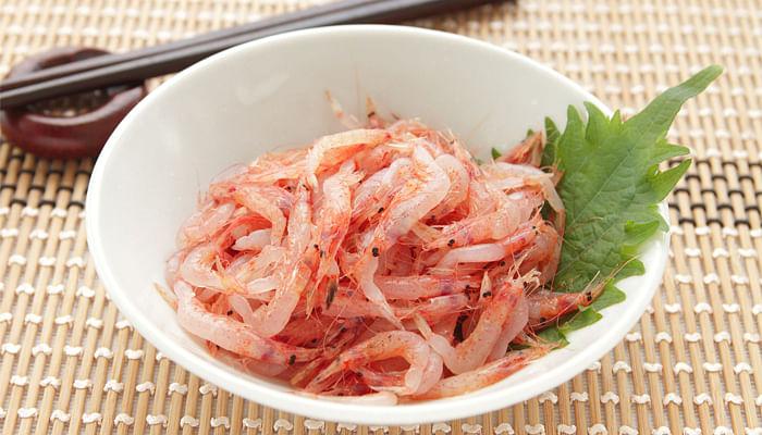 raw-sakura-shrimp-japanese-food
