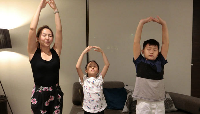 Singapore Kids Use Meditation To Cope With School Stress