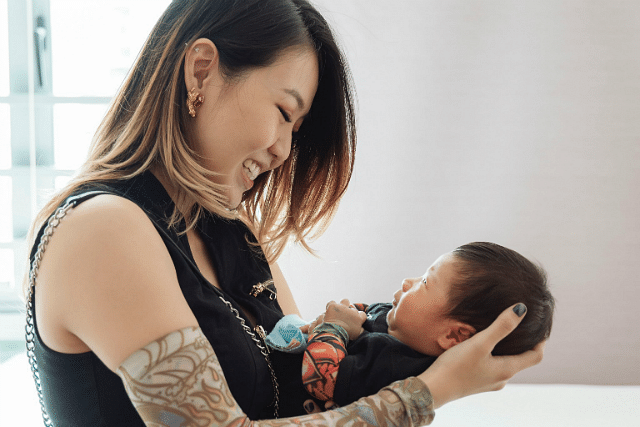 This Is Why Tay Kewei Is Keeping Her Baby's Name A Secret