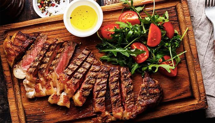 Harvest beef steak