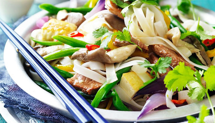 Pork-and-tofu-rice-noodles