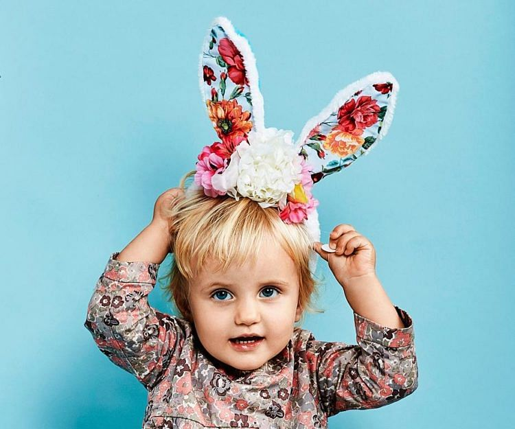 How to make your own easy Easter Bunny ears