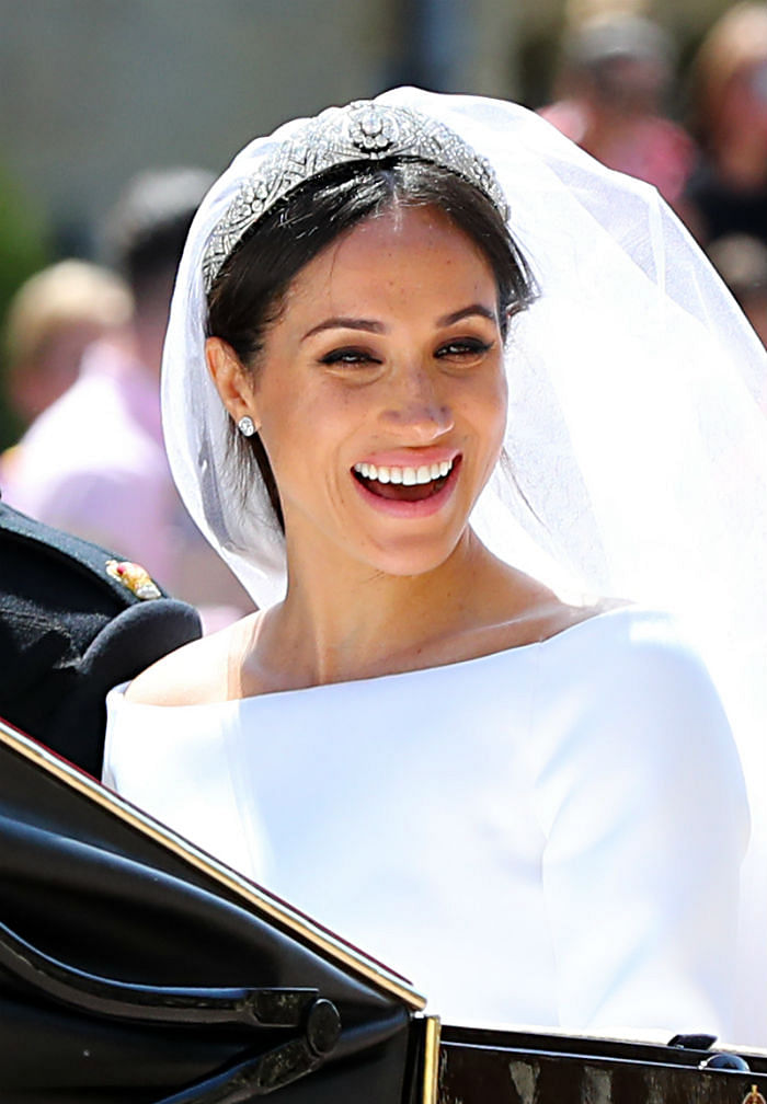 This Is How You Can Create Meghan Markle's Wedding Makeup In 4 Simple Steps - Featured (Gareth Fuller, PA)