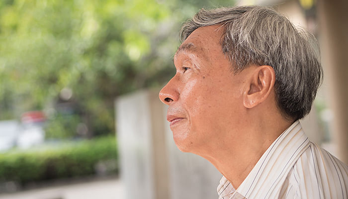 Grandfather-old-Chinese-man-unhappy